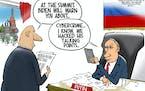 Editorial cartoon: Walt Handelsman on Cybercrime