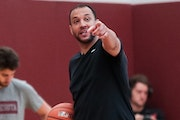 The first team meeting and summer workout were important to news Gophers basketball coach Ben Johnson.