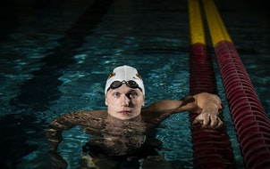 Gophers senior Max McHugh tied for seventh place Monday in the men's 100-meter breaststroke at the U.S. Olympic swimming trials.
