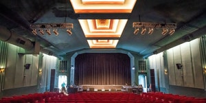 The Parkway Theater in Minneapolis remains shuttered as federal relief has been delayed and state aid is still being negotiated.