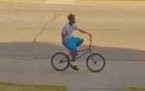 This surveillance image of an assault suspect was released by authorities in Hopkins.  Credit: Hopkins Police Department