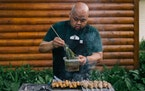 Chef Yia Vang is teaming up with area chefs to bring family dining experiences to the St. Paul Farmers Market.