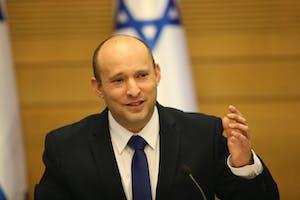 Israel's new prime minister Naftali Bennett holds a first cabinet meeting in Jerusalem Sunday, June 13.