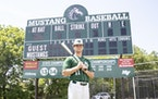 Will Rogers, Mounds View senior, Star Tribune 2021 Metro Player of the Year. Photo taken June 11 at Mounds View High School. Photo: Cheryl A. Myers, S