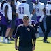Vikings head coach Mike Zimmer watches his players during the first day of minicamp.