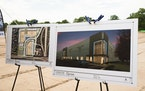 Renderings of the Blaine35 project by Artis REIT were unveiled at ground breaking in Blaine where three industrial buildings will soon rise.