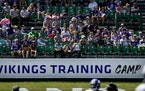 The Vikings will welcome fans back to training camp in late July.