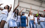 The choir group Known MPLS performed at last year's Juneteenth Community Festival in north Minneapolis.
