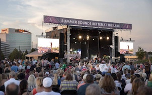Country music vets Alabama played this year's first big outdoor concert June 6 at Mystic Lake Casino's amphitheater.