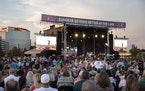Country music vets Alabama played this year's first big outdoor concert June 6 at Mystic Lake Casino's amphitheater.  CHRISTINE T. NGUYEN • chri