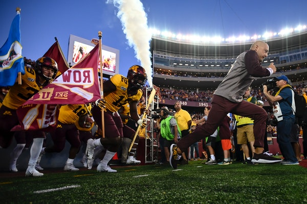"""The """"Row the Boat'' culture is on display with coach P.J. Fleck and the Gophers."""