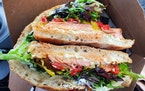 The Cajun Finn sandwich from Northern Waters Smokehaus. The deli is installing new ordering and pickup windows.