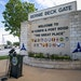The Bernie Beck gate at Fort Hood on June 3, 2016, in Fort Hood, Texas.
