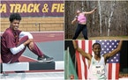 Among the Minnesotans at the U.S. Olympic trials are steeplechase runner Obsa Ali (left), shot putter Maggie Ewen and distance runner Hassan Mead.