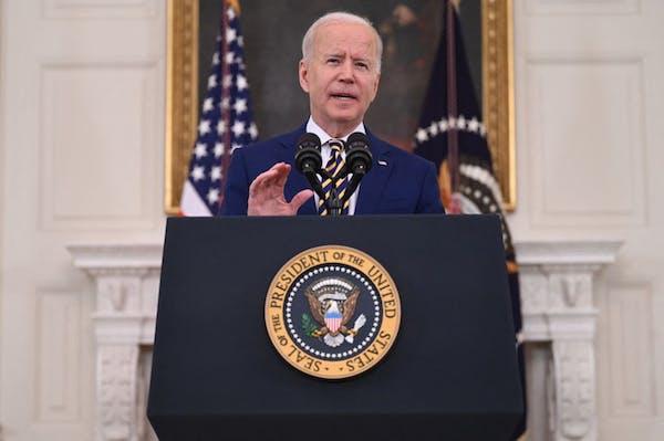 Biden celebrates 300 million COVID shots in 150 days