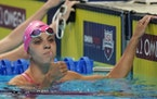 Regan Smith wins her heat in the women's 200 backstroke during the U.S. Olympic Swim Trials on Friday