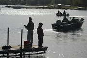 Fishing with Dad will be a scene that plays out all over the state today.