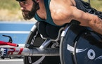 Aaron Pike of Park Rapids already is a two-time veteran of both the Summer and Winter Paralympics.