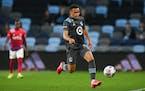 Minnesota United midfielder Hassani Dotson