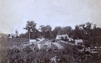 The 1863 view of what would become downtown Excelsior.