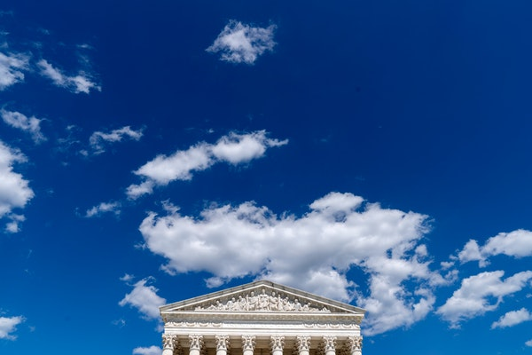 The U.S. Supreme Court building on June 16, 2021.