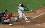 Minnesota Twins Miguel Sano hit a walk off home run in the twelve inning.