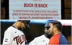 Will Byron Buxton recognize his Twins teammates when he returns from latest injury?