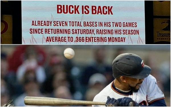 When Buxton returns from this injury, will he recognize his Twins teammates?