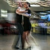 Peter Langworthy, a retired transportation and environmental planner danced with instructor Grace Peterson at Cinema Ballroom's 2019 summer showcase