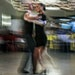 Peter Langworthy, a retired transportation and environmental planner at Bolton & Menk Inc., danced with instructor Grace Peterson at Cinema Ballroom�
