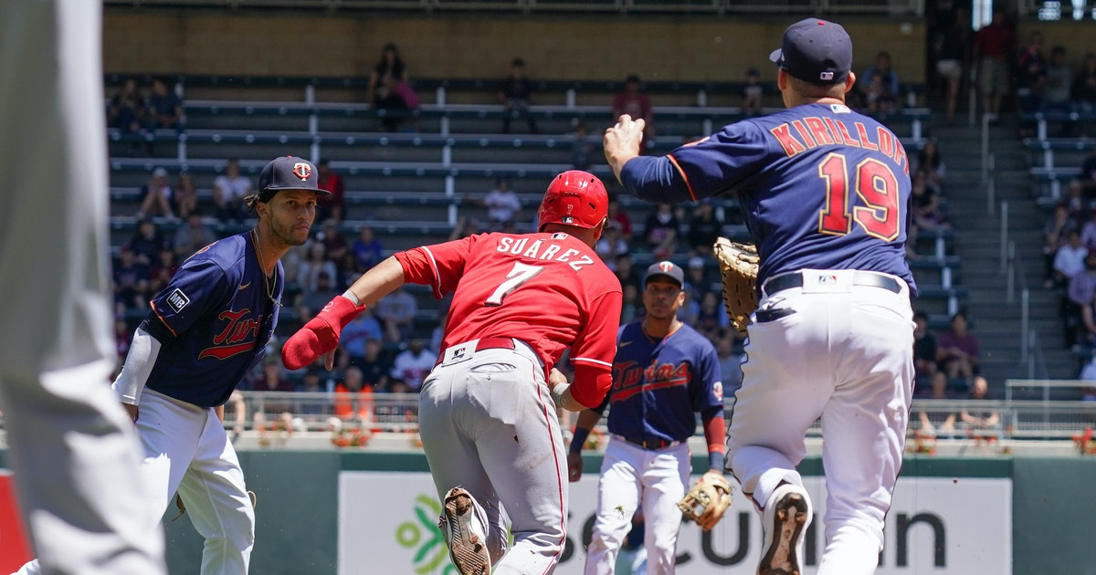 Twins rally goes for naught in 10-7 loss to Cincinnati