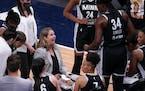 Minnesota Lynx head coach Cheryl Reeve.