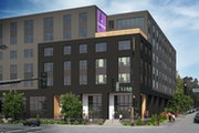 The Resolute is a $19 million commercial-residential project planned for 1300 W. Broadway Av. in Minneapolis.