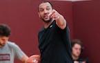 Gophers basketball coach Ben Johnson