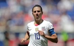 Carli Lloyd is going to her fourth Olympics as a membert of the U.S. women's soccer team.
