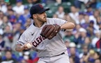 Cleveland lost starting pitcher Aaron Civale to a sprained finger Monday.