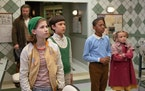 """Emmy DeOliveira, Mystic Inscho, Seth Carr and Marta Timofeeva in """"The Mysterious Benedict Society."""" Disney Plus"""