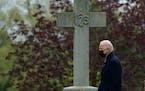 President Joe Biden departed St. Joseph on the Brandywine Church in Wilmington, Del., on April 24, 2021. The nation's Roman Catholic bishops last we