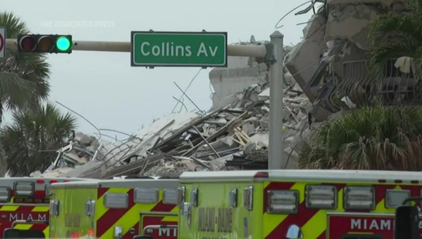 Many feared dead in Florida building collapse