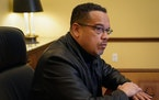 Attorney General Keith Ellison is asking the Legislature to fund 11 new prosecutors to build up his office's criminal division. SHARI GROSS • STAR