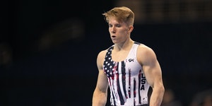 """Shane Wiskus """"did everything he needed to do"""" on the first day of the U.S. Olympic trials, said his coach, Kostya Kolesnikov."""