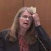 Carolyn Pawlenty, mother of Derek Chauvin, speaking during Derek Chauvin's sentencing hearing Friday, June 25, 2021.