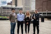 BetterYou executives (left to right): Tommy Khoo, Sean Higgins, Bailey Faust and Edwin Melendez