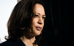 Vice President Kamala Harris spoke with reporters as she prepared to depart El Paso, Texas, on June 25 after touring the El Paso Border Patrol Station