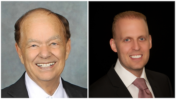 Glen Taylor (left) and Meyer Orbach (right) are in a legal dispute over whether or not Taylor is selling the Timberwolves and Lynx.
