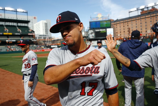 Berrios aiming for a big payday — whether or not it's with the Twins
