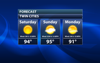 Hot Independence Day Weekend Ahead