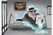 Sack cartoon: Trump Organization indictment
