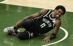 The Nets' playoff fortunes may have turned painfully when guard Kyrie Irving turned an ankle in Game 4 of their semifinal series against Milwaukee.