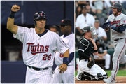 Former Twins catcher A.J. Pierzynski (left) was an earlier version of the feisty competitor that is current third baseman Josh Donaldson.